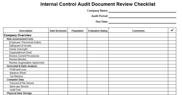 Document review form template auditor forms vitalics maxwellsz