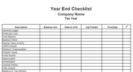 End Of Year Financial Report Template  CityEsporaCo