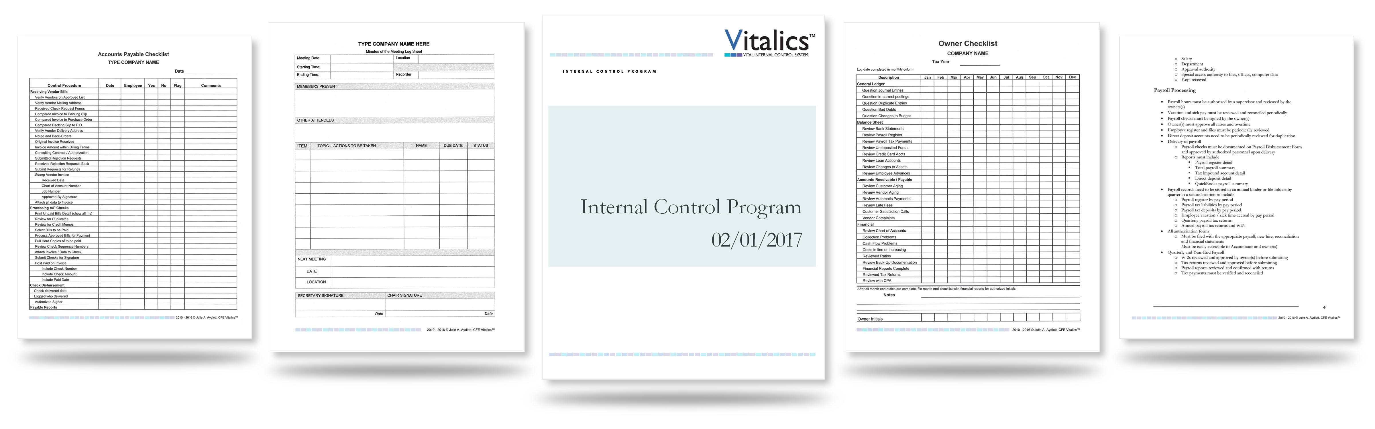 Implementing Internal Controls in Small Business – thevitalicsystem com